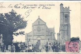 BASSE NORMANDIE - 14 - CALVADOS - LUC SUR MER - L'Eglise Et Le Cimetière - Luc Sur Mer