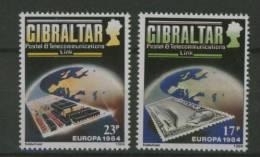 GIBRALTAR 1984 EUROPA MNH ** - 1984