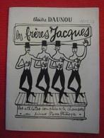 Programme Des Frères Jacques Au Théâtre Daunou 1953-54 - Programs