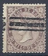ESP0318 EDIFIL   Nº 98S  BARRADO - 1850-68 Kingdom: Isabella II