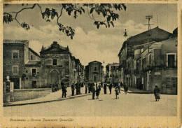 MAZZARINO (CL) PIAZZA FRANCESCO GESUALDO MOLTO ANIMATA 1949 - Caltanissetta