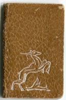 CALENDARIETTO DA BORSETTA ANNO 1943 DONNA - Calendriers
