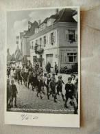 Gaggenau Murgtal -Baden  - Hotel Grüner Hof   -Children In Uniforms Marching - Flagged Houses  14.March 1936  D86126 - Gaggenau