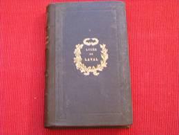 1859 : Grandeur Des Romains Et Leur Décadence Par Montesquieu, Librairie Cattier Tours, Reliure Lycée De Laval - History