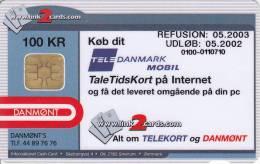 Denmark, DD 223, Mobiltid, Only 5975  Issued, 2 Scans. - Danemark