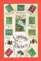 Langage Des Timbres  Collections Messages Choisis Musée De La Poste Paris 1995 - Timbres (représentations)