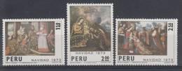 PERU' 1973 - NATALE NUOVO MNH - Peru
