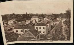 Carte Sépia Chatillon .sur.Loire (Loiret) .Groupe Scolaire - Chatillon Sur Loire