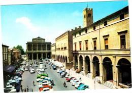 Rimini - Piazza Cavour - & Old Cars - Rimini