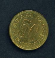 YUGOSLAVIA  -  1980  50 Para  Circulated As Scan - Yugoslavia