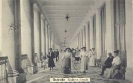 OOSTENDE 1912   OSTENDE   GALERIE ROYALE    PRACHTIGE KAART / TRES BELLE CARTE - Oostende