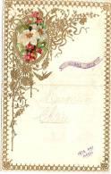 Lettre De Compliment Avec Enluminure-Chromo/Maman Chérie/Fête Des Méres/Vers 1940  CAN11 - Andere
