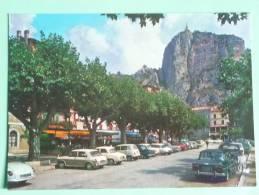 CASTELLANE, Route NAPOLEON,le Roc Et Notre Dame Du Roc - Castellane