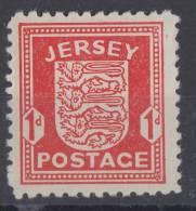 Dt Besetzung Jersey Minr.1 Postfrisch - Besetzungen 1938-45