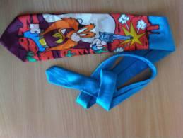 Bugs Bunny Sam Der Pirat Krawatte Gebraucht Aber Gut Erhalten Farbenfroh Klasse Teil! - Walt Disney