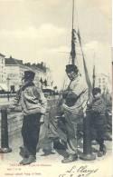 OOSTENDE 1903   OSTENDE TYPES DE PECHEURS   SUGG SERIE 7 N° 86 - Oostende