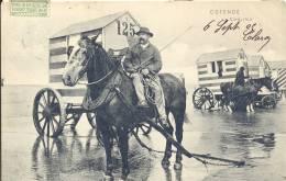 OOSTENDE 1905   OSTENDE LE CONDUCTEUR   MOOIE KAART / BELLE CARTE - Oostende