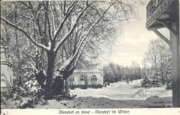MONDORF  EN HIVER  - MONDORF IM WINTER    1930 - Mondorf-les-Bains