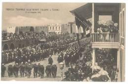 4644 COLONIE AFRICA LIBIA TRIPOLI MILITARI 1911 NON VIAGGIATA - Libië