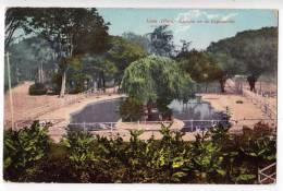 AMERICA PERU LIMA EXPOSURE IN LAGUNA E. POLACK Nr. 20 OLD POSTCARD 1911. - Peru
