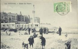 OOSTENDE  1908     154. OSTENDE  BAINS DU PHARE - Oostende