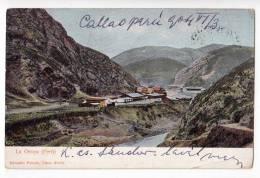 AMERICA PERU LA OROYA EDUARDO POLACK OLD POSTCARD 1904. WITHOUT STAMP - Pérou