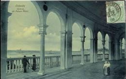 OOSTENDE 1908  OSTENDE   GALERIE DU PALACE HOTEL - Oostende