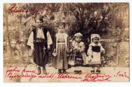 AMERICA PERU THE NATIVE CHILDREN OLD POSTCARD 1901. - Pérou