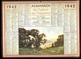 Calendrier1942, Pâturages En Bourbonnais, Allier - Big : 1941-60