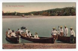 AMERICA PANAMA ON THE CHAGRES OLD POSTCARD - Panama