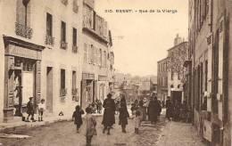 REPRO CP - FINISTERE - BREST - RUE DE LA VIERGE - Brest