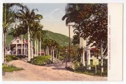 AMERICA PANAMA THE GOVERNORS RESIDENCE ANCON OLD POSTCARD - Panama
