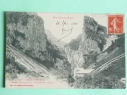Vallée De L'AUDE, Gorges ST GEORGES , Usine Electrique Et L'Entrée Du Défilé - France