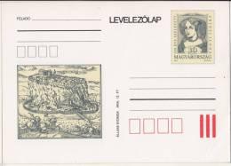 1993 - HUNGARY - Zrinska Zrinyi Ilona - Munkács - POSTCARD - MNH - Other
