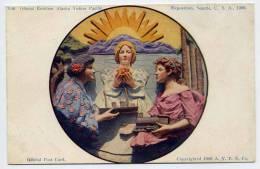 Etats-Unis--SEATTLE-Expos Ition 1909-Official Emblem Alaska Yukon Pacific-Official Post Card-illustrateur???-trai N,bate - Seattle