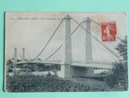 Saint Gilles - Pont Suspendu Sur La Rhone - Saint-Gilles