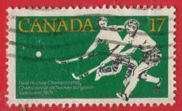 1979 - Amérique Du Nord - Canada - Championats De Hockey Sur Gazon Féminins - 17 C Vert ,ocre Et Noir - - Hockey (su Erba)