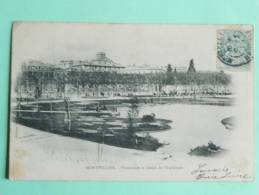 MONTPELLIER - Promenade Et Jardin De L'Esplanade - Montpellier