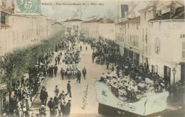 52 WASSY FETE CARNAVALESQUE DU 13 MARS 1904 - Wassy