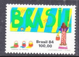 Brazil  1951    **  BRASIL  MURAL - Brazil