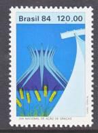 Brazil  1963    **  THANKSGIVING - Brazil