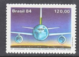 Brazil  1968    **  AERO  GLOBE - Brazil