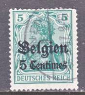 German Occupation Belgium N 2  (o) - Occupation 1914-18