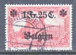 German Occupation Belgium N 8  (o) - Occupation 1914-18