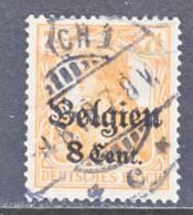 German Occupation Belgium N 13  (o) - Occupation 1914-18