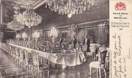 Belgium Brussels Palais Royal Un Banquet dans la Salle des Marbr