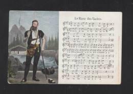 Schweiz AK Le Ranz Des Vaches  1905 - Ethniques & Cultures