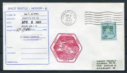 1983 USA Challenger Space Shuttle Cover - Covers & Documents