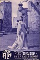 MON FILM N° 445 DU 2 3 1955 - UN SI DOUX VISAGE AVEC ROBER MITCHUM - LES CHEVALIERS DE LA TABLE RONDE AVEC AVA GARDNER - Cinema/Televisione