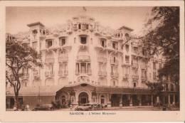 CPA  POST CARD - SAIGON Indochine Viêt Nam - 1949  L' Hôtel Majestic - Viêt-Nam